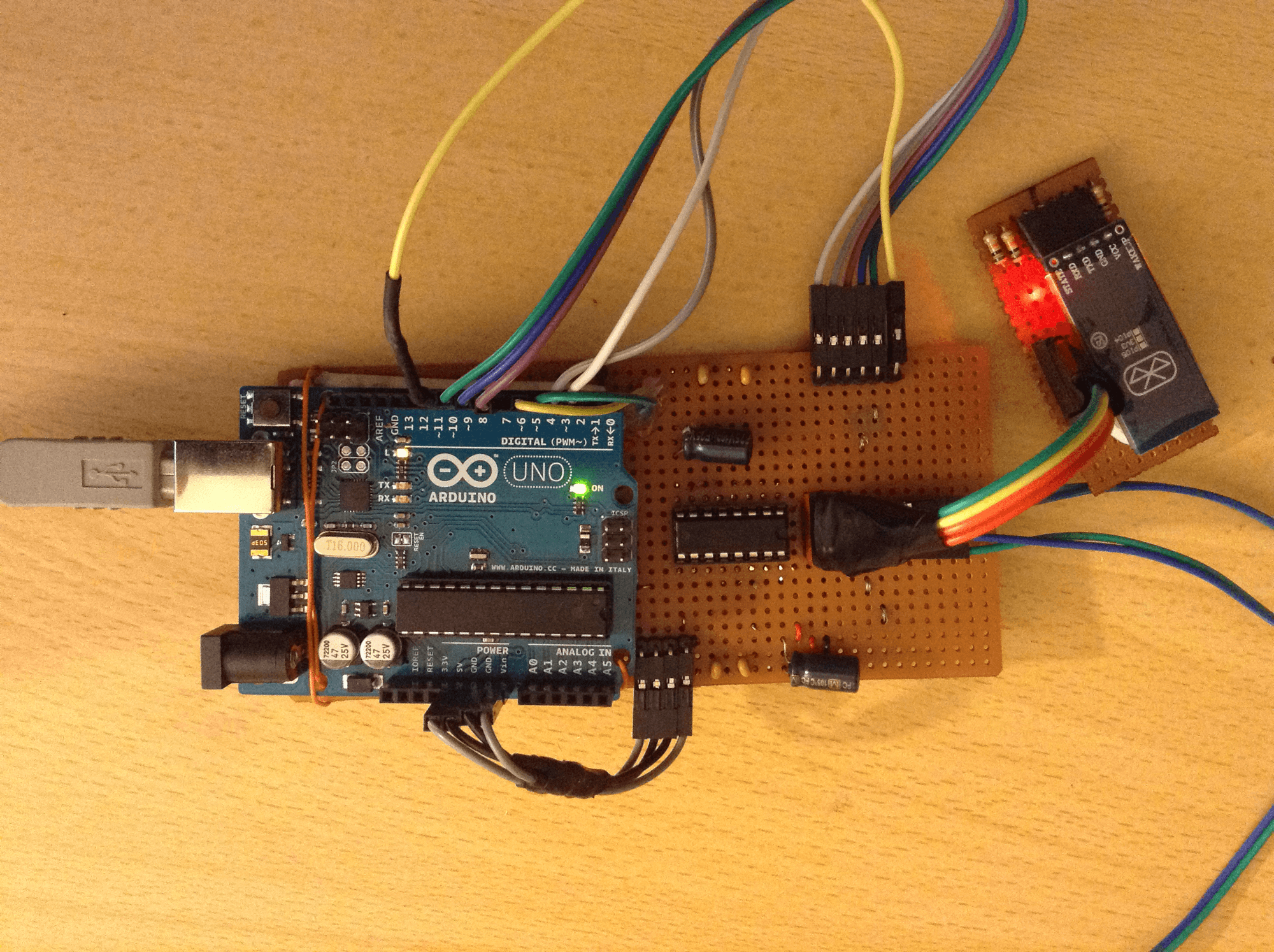 Bluetooth Module and Circuit Working