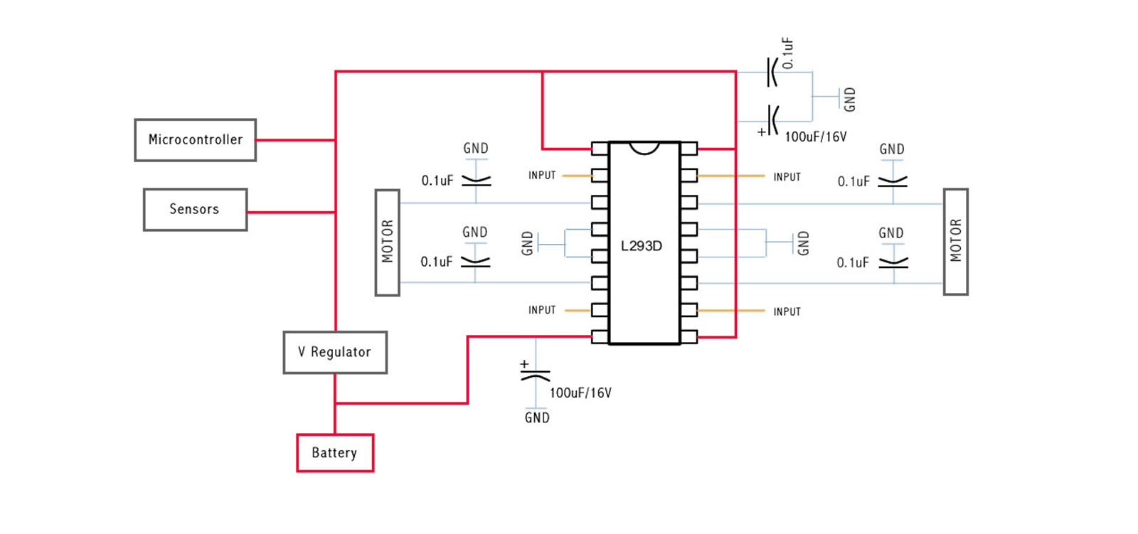 H Bridge with Capacitors